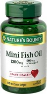 90 MINI CAPSULAS NATURE S BOUNTY ACEITE DE PESCADO 1290 MG