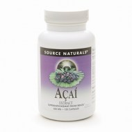 ACAI EXTRACTO DE BAYAS DE ACAI 500 mg SOURCE NATURALS 120 CAPSUL