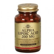ALPHA LIPOIC ACID 200MG 50 CAPS POTENTE Y NATURAL ANTIOXIDANTE