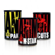 ANIMAL PAK 44 PACKS + ANIMAL CUTS 42 PACKS + M-STAK 21 PACKS