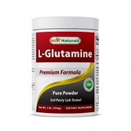 BEST NATURALS L-GLUTAMINE POWDER 1 LB 100% PURE