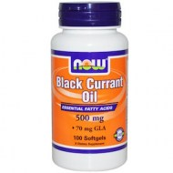 BLACK CURRANT OIL 500MG - ANTIINFLAMATORIO NATURAL (100 CAPSULAS