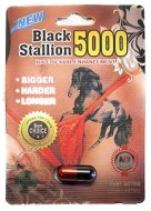 BLACK STALLION 5000 3 CAPSULAS