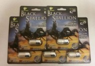BLACK STALLION 9000 ESTIMULANTE SEXUAL PARA 7 DIAS 5 CAPSULAS