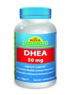 DHEA 50 MG SUPPORT LONGEVITY (120 CAPSULAS)