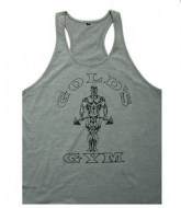 ESTABILE GOLD´S GYM - MODERNAS CAMISETAS PARA GIMNASIO (1 CAMISE