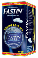 FASTIN DIET SUPPLEMENT 60 CAPSULAS