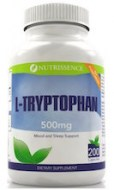 L-TRYPTOPHAN 500MG - MEJOR ESTADO ANIMICO Y SUENO (200 CAPSULAS)
