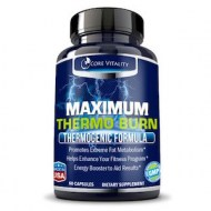 MAXIMUM THERMO BURN - QUEMAR GRASAS AL MAXIMO (60 CAPSULAS)