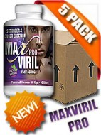 MAXVIRIL PRO - MAXVIRIL 5 RECIPIENTES (300 CAPSULAS)