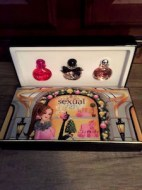 MICHEL GERMAIN 3 FRASCOS PERFUME SEXUAL MINIATURA SET DE REGALO