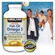 Natural Fish Oil- Omega-3 Fatty Acids (400 capsulas)
