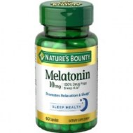 NATURES BOUNTY MELATONIN 10 MG 60 CAPSULAS