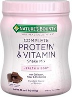 NATURES BOUNTY PROTEIN AND VITAMIN SHAKE CHOCOLATE 453 GRAMOS