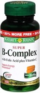 NATURES BOUNTY SUPER B COMPLEX CON ACIDO FOLICO 150 CAPSULAS