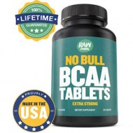 NO BULL BCAA TABLETS - BCAA MAS POTENTE 1000MG (120 CAPSULAS)