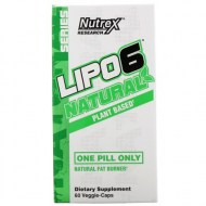 NUTREX RESEARCH SERIE NATURAL LIPO-6 QUEMAGRASA 60 CAPSULAS VEGETALES