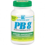 NUTRITION NOW PB 8 120 CAPS POTENTES PROBIOTICOS
