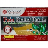 PAIN RELIEF PATCH - PARA QUITAR EL DOLOR (6 PARCHES)
