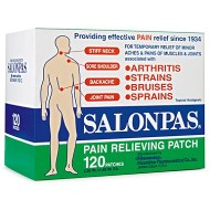 PARCHES SALONPAS DOLOR PARCHES 120