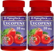 PIPING ROCK LYCOPENE 10MG 120 CAPSULAS X 2 FRASCOS