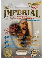 PLATINUM 2000 IMPERIAL 1 TABLETA ESTIMULANTE SEXUAL