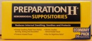 Preparation H Hemorroides Suppositories 56 Supositorios