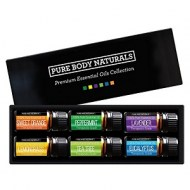 PURE BODY ACEITES NATURALES PARA AROMATERAPIA 6 X 10 ML