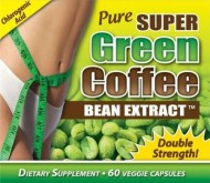 PURE SUPER GREEN COFFEE EXTRACT 800MG (60 CÁPSULAS)