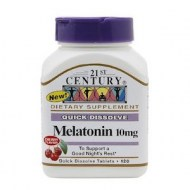 QUICK DISSOLVE MELATONIN 10MG 120CAPS