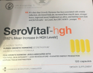 SEROVITAL HGH GROWTH HORMONE 120 CAPS