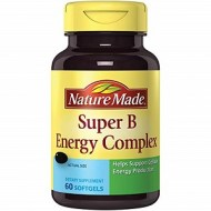 SUPER B ENERGY COMPLEX 60 CAPS