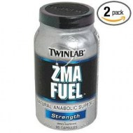 TWINLAB ZMA FUEL STRENGTH 90 CAPS 2 FRASCOS
