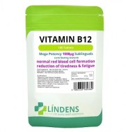VITAMINA B12 100 CAPSULAS SUBLINGUALES