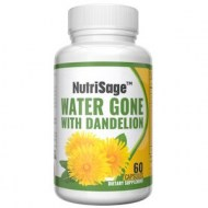 WATER GONE WITH DANDELION - DRENADO DIURETICO (60 CAPSULAS)